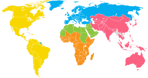 World Golf Map